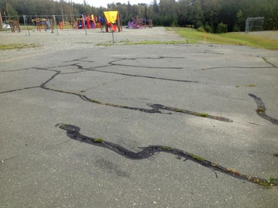 Sealing Cracks Lengthens The Life of Asphalt